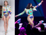 Dua Lipa In Versace, Armani Privé & Stella McCartney - The BRIT Awards 2018 Performance, Press Room & After-Party