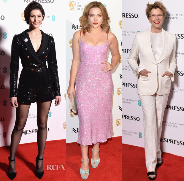 EE British Academy Film Awards Nominees Party Red Carpet Roundup ...