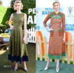 Elizabeth Debicki In Roksanda & Gucci  - 'Peter Rabbit' LA Photocall and Premiere