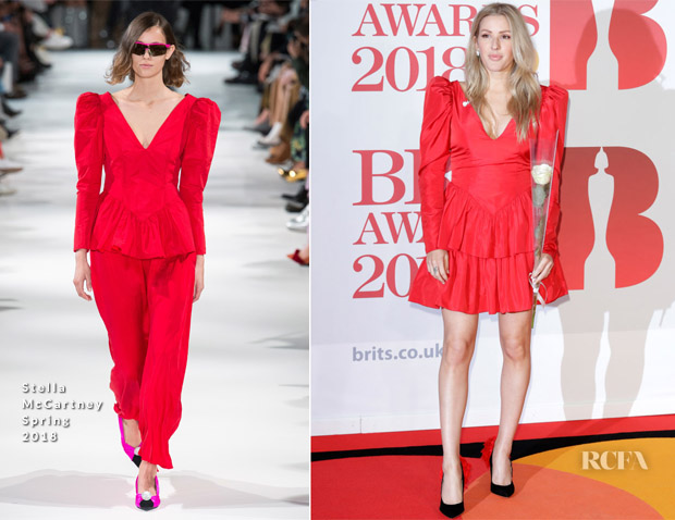 Ellie Goulding In Stella McCartney - The BRIT Awards 2018