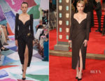 Emma Roberts In Schiaparelli Couture - 2018 BAFTAs