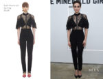 Emmy Rossum In Self-Portrait - 'The Minefield Girl' Audio Visual Book Launch