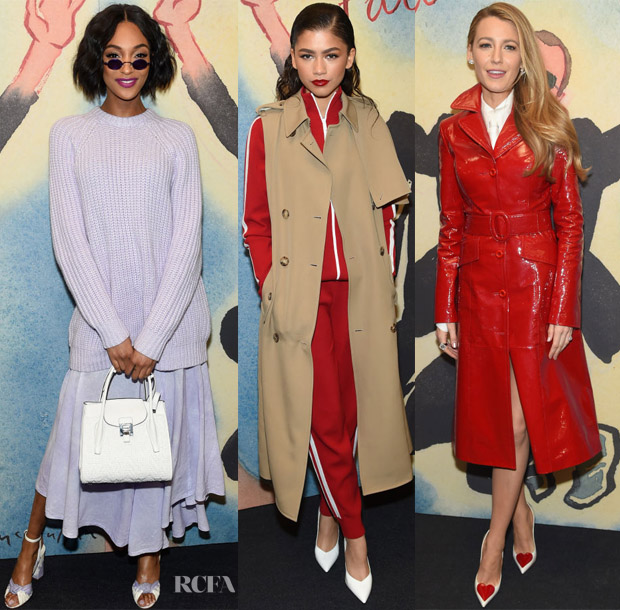 0788144a444d Some of Michael Kors  most stylish femmes were out in force for the Michael  Kors Collection Fall 2018 show during New York Fashion Week on Wednesday ...