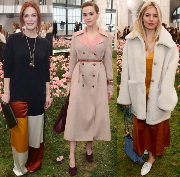 12baf1395 The front row at Tory Burch s Fall 2018 presentation was a lovely  collection of stars who showed up in support of the designer during New  York Fashion Week ...