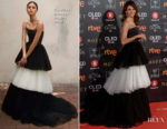 Goya Toledo In Carolina Herrera - 2018 Goya Awards