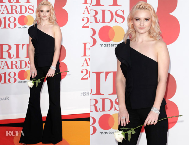 Grace Chatto In Antonio Berardi - The BRIT Awards 2018