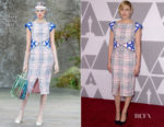 Greta Gerwig In Chanel - 90th Annual Academy Awards Nominee Luncheon