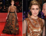 Greta Gerwig In Valentino - 'Isle of Dogs' Berlinale International Film Festival Premiere & Opening Ceremony