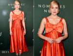 Greta Gerwig In vintage Cardinali - The Hollywood Reporter 6th Annual Nominees Night