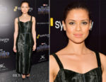 Gugu Mbatha-Raw In Gabriela Hearst - 'Black Panther' New York Screening
