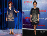 Gugu Mbatha-Raw In Stella McCartney - 'Irreplaceable You' New York Screening