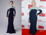 Helen Mirren In Reem Acra - AARP's 17th Annual Movies For Grownups Awards
