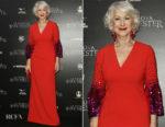 Helen Mirren In Sachin & Babi - 'La Vedova Winchester' Rome Premiere