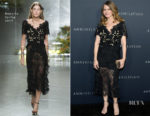 Jennifer Jason Leigh In Rodarte - 'Annihilation' LA Premiere