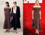 Joely Richardson In Temperley London - 'Red Sparrow' London Premiere