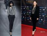 Juliette Binoche In Saint Laurent - 23rd Lumieres Awards Ceremony