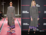 Karlie Kloss In Vivetta - The 2018 MAKERS Conference