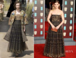 Kate Mara In Christian Dior Couture - 2018 BAFTAs