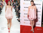 Kate Mara In Valentino - EE British Academy Film Awards Nominees Party