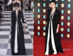 Kristin Scott Thomas In Christian Dior Couture - 2018 BAFTAs