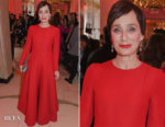 Kristin Scott Thomas In Valentino - London Evening Standard British Film Awards 2018