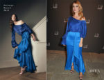 Lily James In Hellessy - Dunhill & GQ Pre-BAFTA Filmmakers Dinner And Party