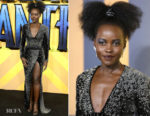 Lupita Nyong'o In Balmain -  'Black Panther' London Premiere