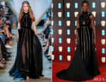 Lupita Nyong'o In Elie Saab Couture - 2018 BAFTAs