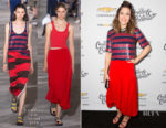 Mandy Moore In 3.1 Phillip Lim - Create & Cultivate 100