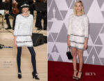 Margot Robbie In Chanel - 90th Annual Academy Awards Nominee Luncheon