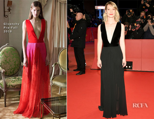 Mia Wasikowska In Givenchy & Prada - 'Damsel' Berlinale International Film Festival Premiere & Photocall