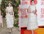 Millie Bobby Brown In Rodarte - The BRIT Awards 2018
