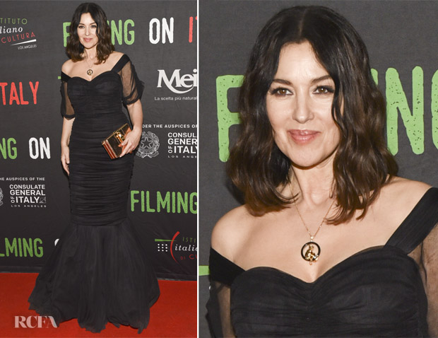 Monica Bellucci In Dolce Amp Gabbana On The Milky Road