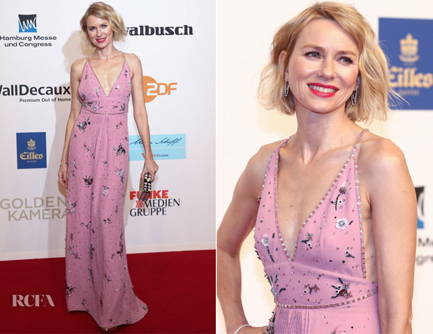 Naomi Watts In Miu Miu - Goldene Kamera 2018