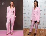 Naomie Harris In Tibi - AllBright VIP Launch Party