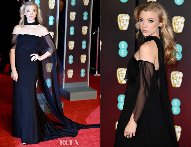 Natalie Dormer In Alberta Ferretti - 2018 BAFTAs