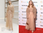 Natalie Dormer In Sandra Mansour - EE British Academy Film Awards Nominees Party