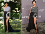 Olivia Culpo In Redemption Couture - 2018 amfAR Gala New York