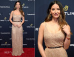 Olivia Munn In Laura Basci - #LEGENDARYFUTURE Roadshow 2018