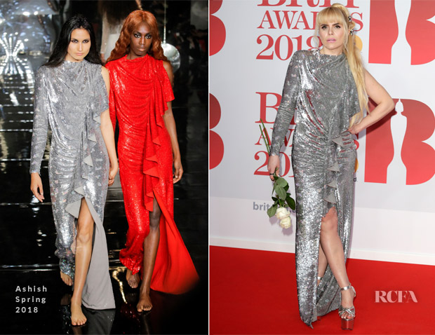 Paloma Faith In Ashish - The BRIT Awards 2018