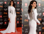 Penelope Cruz In Versace - 2018 Goya Awards