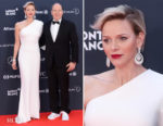 Princess Charlene of Monaco In Stella McCartney - 2018 Laureus World Sports Awards