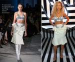 Rita Ora In Francesco Scognamiglio Couture - Warner Music Group & Ciroc Brit Awards Party