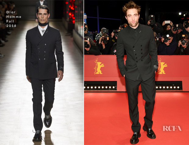 Robert Pattinson In Dior Homme - 'Damsel' Berlinale International Film Festival Premiere
