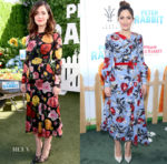 Rose Byrne In Dolce & Gabbana and Erdem - 'Peter Rabbit' LA Photocall and Premiere