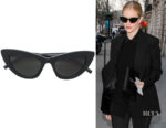 Rosie Huntington-Whiteley's Saint Laurent New Wave 213 Lily Sunglasses
