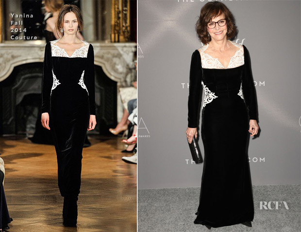 Sally Field In Yanina Couture - 2018 Costume Designers Guild Awards