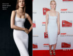 Saoirse Ronan In Narciso Rodriguez - AARP's 17th Annual Movies For Grownups Awards