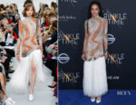 Sasha Lane In Celine - 'A Wrinkle In Time' LA Premiere