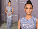 Serayah McNeill In Michael Kors Collection - 2018 amfAR Gala New York